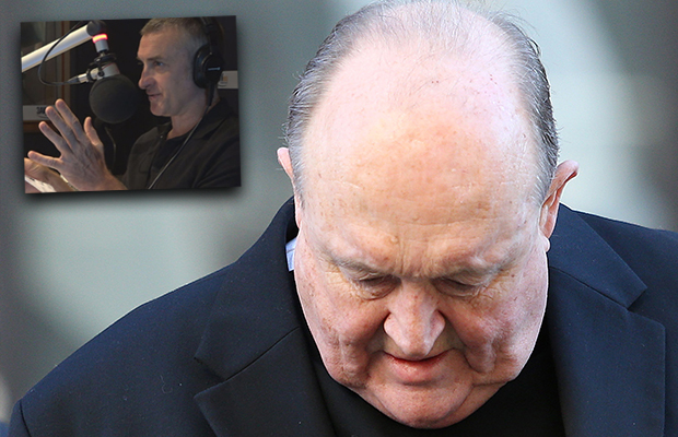 Article image for Tom Elliott left furious by comment showing the 'bald-faced arrogance' of disgraced Archbishop