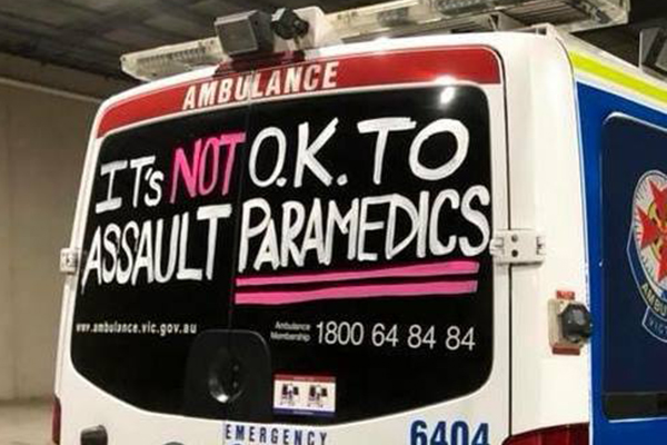 Article image for Paramedic who was punched by patient in Epping says apology is 'beside the point'