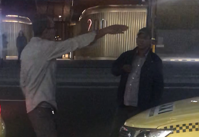 Article image for Taxi drivers caught arguing about NOT taking a passenger in the CBD