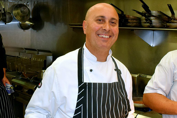 Article image for Geelong chef Luciano Gandolfo facing deportation after failing English test six times