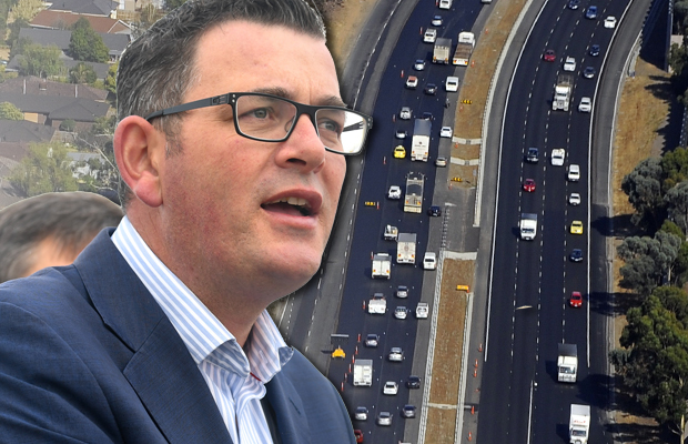Article image for New Monash lanes open tonight, as Premier declares airport link a goer