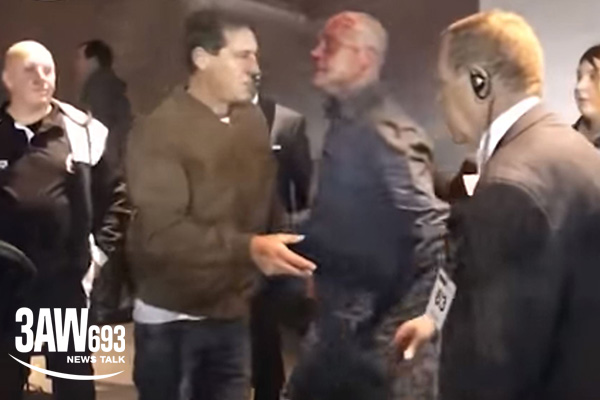 Article image for Fan cops Etihad's first lifetime ban after bloody brawl