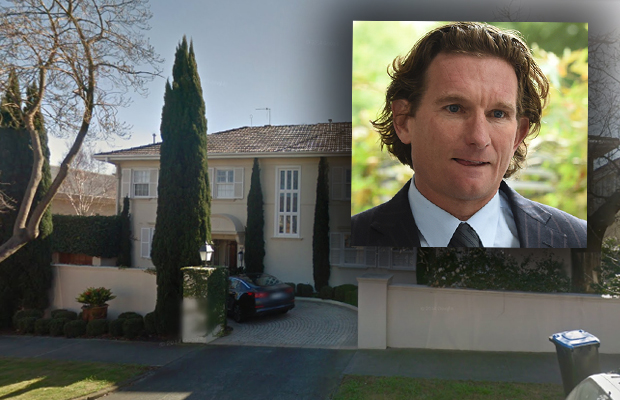 Article image for James Hird has car stolen during home invasion
