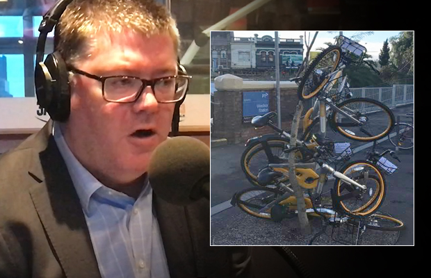Article image for 'That should get their attention': Melbourne is cracking down on oBike