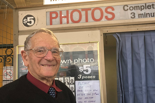 Article image for Metro to find 'new location' for 'iconic' photo booth