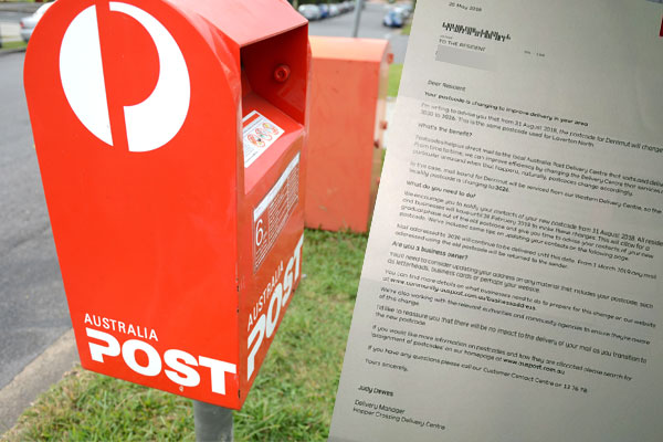 Article image for Long time coming for suburb's postcode change