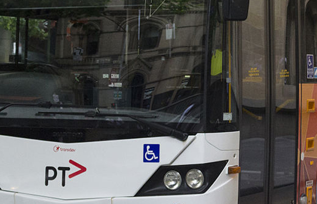 Article image for Car wedged, bus passengers stuck after Brunswick crash