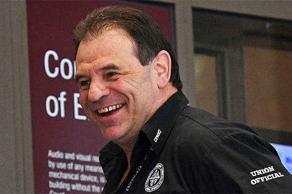 Article image for Blackmail charges against CFMEU boss John Setka to be dropped