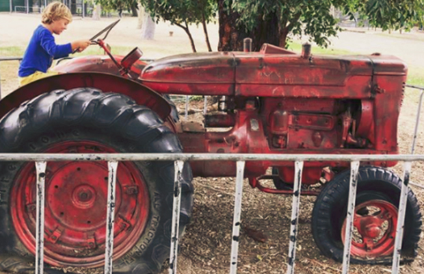 Article image for Why Elsternwick Primary is removing beloved tractor from playground