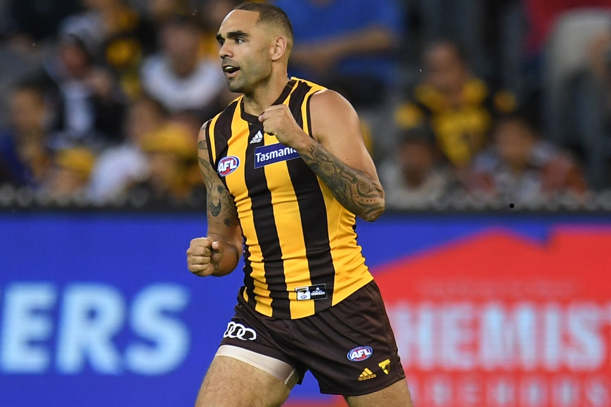 Article image for Hawthorn celebrates Burgoyne's 350th with a thumping win over Adelaide