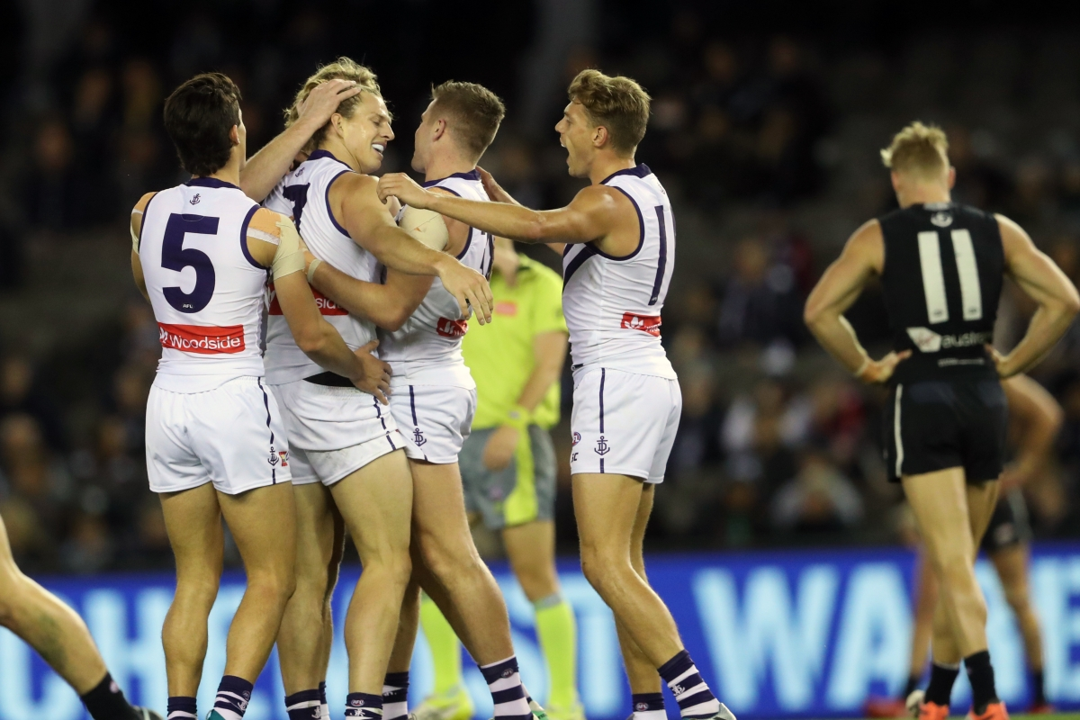 Article image for Freo boot first 12 goals to smash lifeless Blues