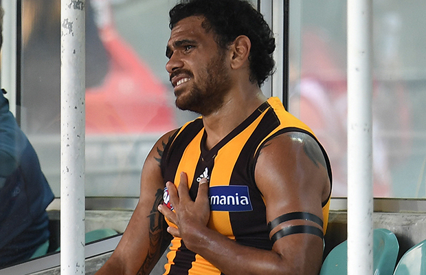 Article image for Cyril Rioli returns to Darwin