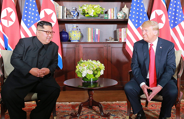 Article image for Why language coming out of Singapore Summit should 'ring alarm bells'