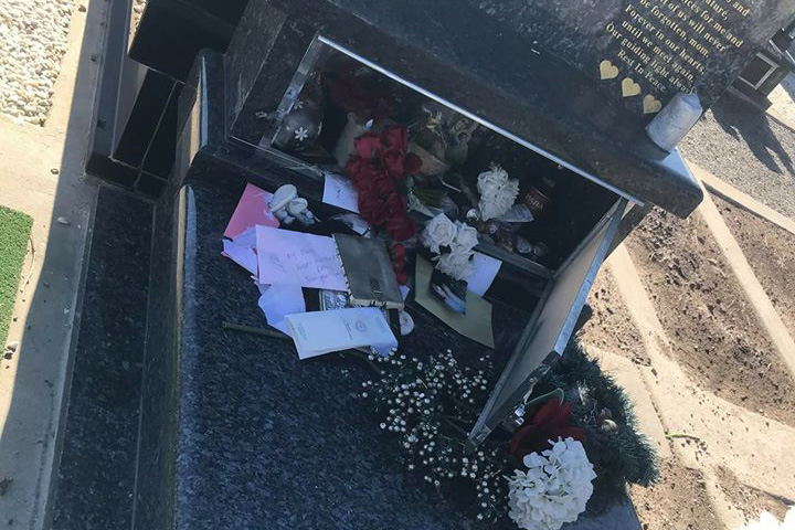 Article image for Graves vandalised at cemetery in Melbourne's north