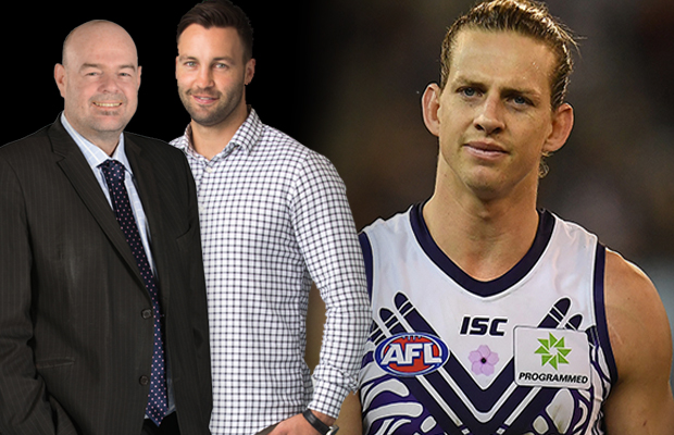 Article image for Robbo hits back at 'fake news' claims from Nat Fyfe, sparking debate about footy media