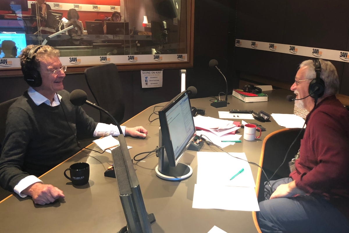 Article image for Full interview: Neil Mitchell and Red Symons in the studio