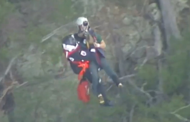 Article image for Rescue operation at Werribee Gorge