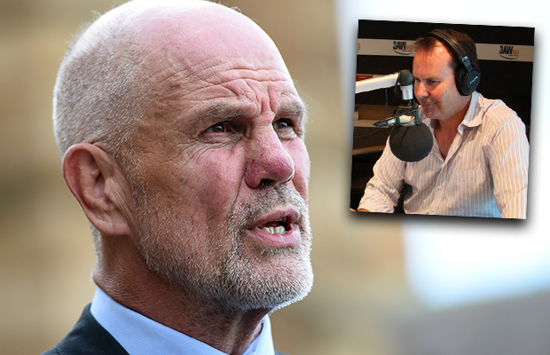 Article image for Tony Jones and Peter FitzSimons clash over governor general plan