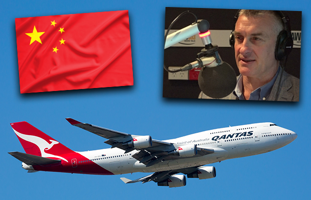 Article image for Why Tom Elliott was surprised to see Qantas 'buckle' under Chinese pressure