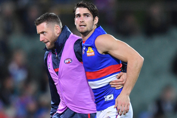 Article image for Bulldog skipper's season in doubt with hamstring injury