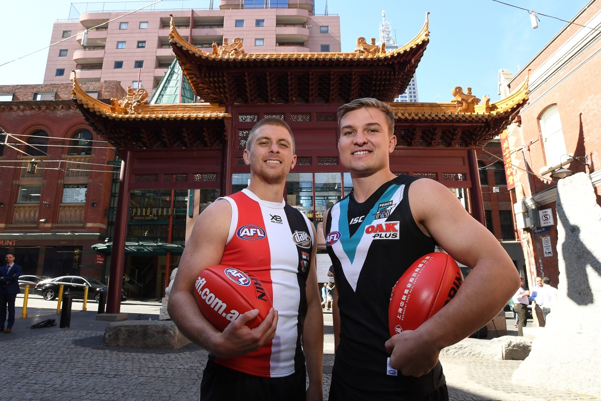 Article image for Healy urges Saints boss not to spin China experiment