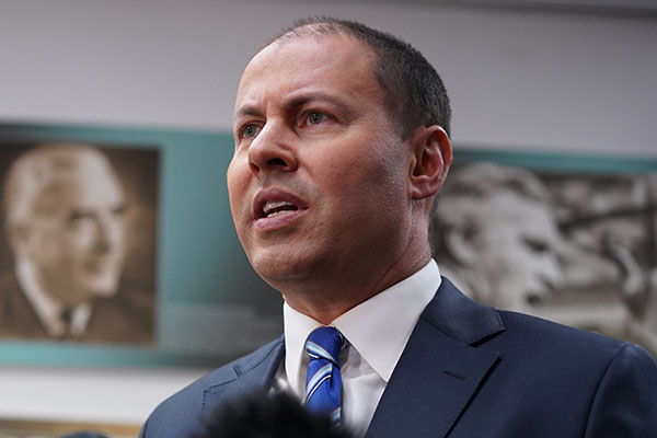 Article image for Frydenberg: State budget will be a mess if Victorian housing market continues to slow