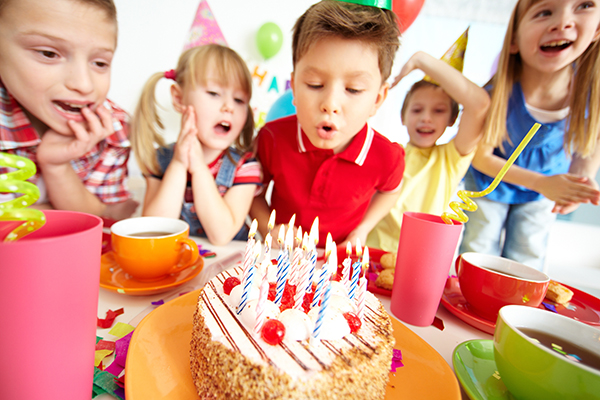 Article image for Are kids' birthday parties getting too over the top?
