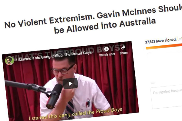 Article image for Calls for controversial Canadian right-wing 'comedian' to be banned from Australian speaking tour