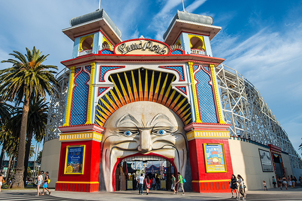 Article image for The new corporate sponsorship deal to maintain Luna Park's famous Mr Moon teeth