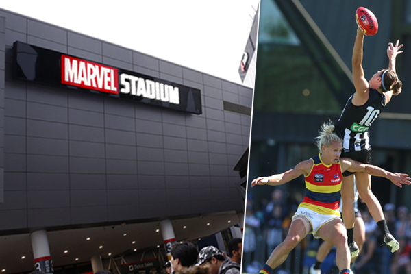"Article image for ""It undermines any attempt to take AFLW seriously"": Neil Mitchell slams plan for superhero jumpers"