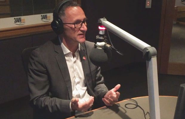 """Article image for Richard Di Natale says """"somebody had to take a stand"""" over sexism in the Senate"""