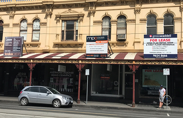 Article image for Chapel Street shopping strip disappearing due to high rent