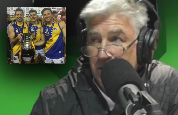 "Article image for Gerard Healy says it's a ""joke"" this man isn't on an AFL list"