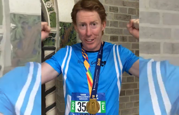 Article image for Cameron Ling completes New York Marathon for charity!