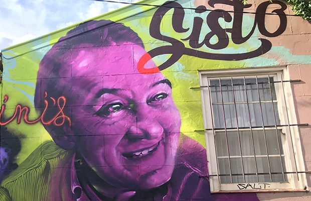 Article image for Sisto remembered with stunning mural in Little Italy