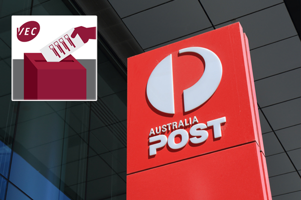 Article image for VEC assures people won't be fined if their postal votes don't arrive in time
