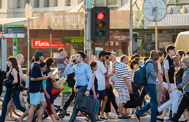 Article image for Pedestrian crackdown: Calls to tackle a 'modern phenomenon' with $200 fines
