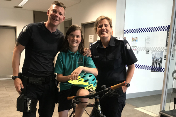 Article image for Good news for 12-year-old Charlie after his bike was stolen at school