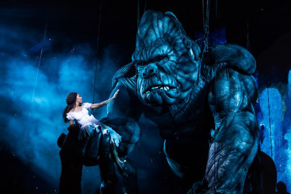 Article image for Australian stage show King Kong to premiere on Broadway tonight