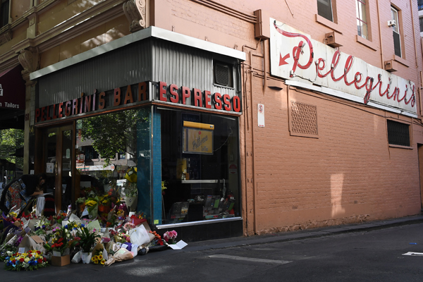 Article image for Pellegrini's reopens, serving up Sisto Malaspina's favourite coffee for free