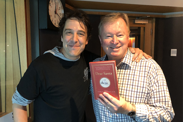Article image for Samuel Johnson joins Denis in the studio after launching new book, Dear Santa