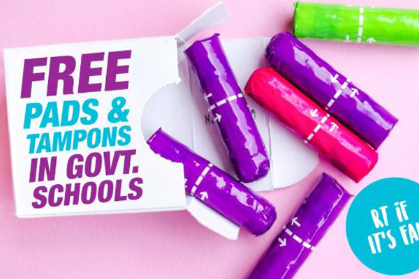 Article image for Andrews Government to provide free sanitary products in state schools