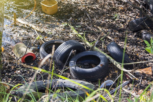 Article image for Thousands of tyres illegally dumped across Monash and Whitehorse