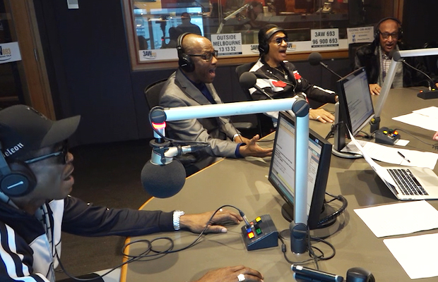 Article image for The legendary Four Tops join Denis Walter in studio!