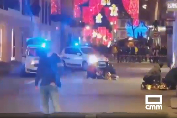Article image for Death toll expected to rise to four after gunman opens fire at Strasbourg Christmas market