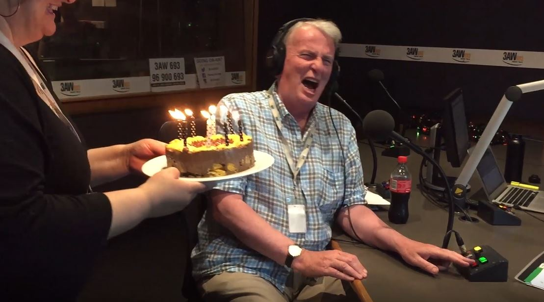 Article image for WATCH: Andrew McLaren's on-air birthday surprise!