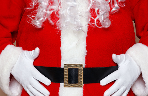 Article image for Bad Santa: Woodend robber makes tough call after becoming stuck in a chimney