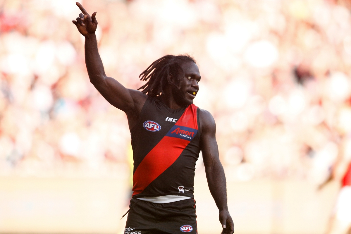 Article image for McDonald-Tipungwuti seven goal haul demolishes the Lions