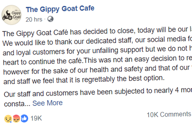 Article image for Popular Gippsland café forced to close due to relentless 'threats and abuse' from vegan activists