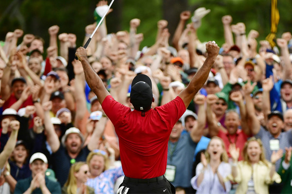 Article image for 'Never seen anything like it': Tiger Woods pulls off remarkable comeback